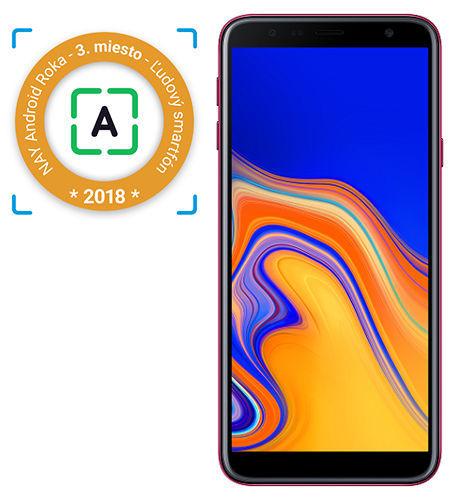 Samsung-Galaxy-J4+-ružový