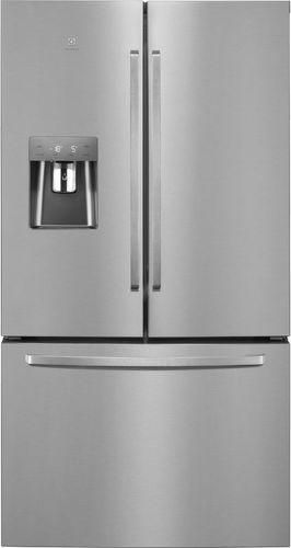 ELECTROLUX EN6086JOX, strieborná americká chladnička
