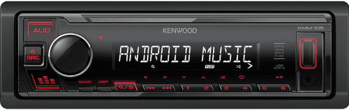 KENWOOD KMM-105RY RED
