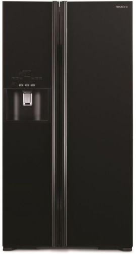 HITACHI R-S700GPRU2-GBK, čierna americká chladnička