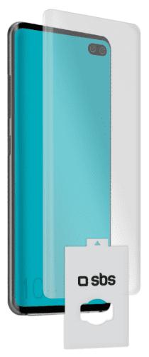 SBS ochranná fólia pre Samsung Galaxy S10+, transparentná