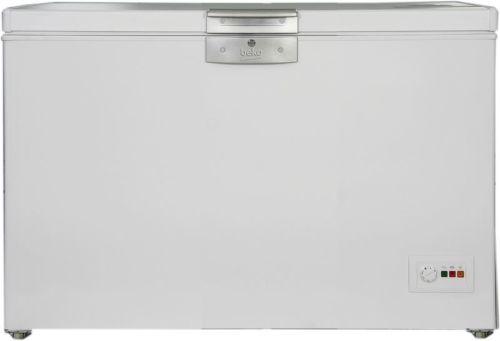 BEKO HSA 29530, biela truhlicová mraznička
