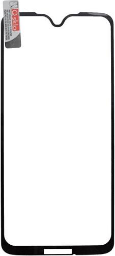 Q sklo 2,5D tvrdené sklo pre Motorola Moto G7 Plus, čierna