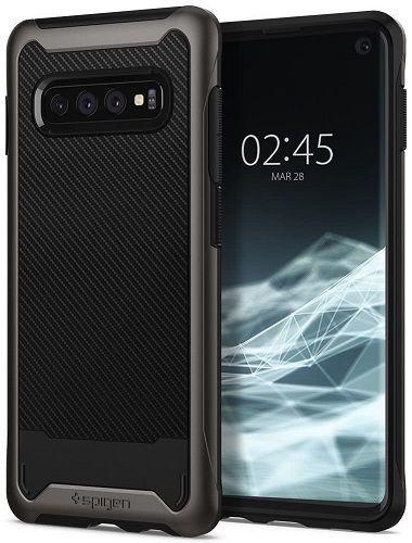 Spigen Hybrid NX puzdro pre Samsung Galaxy S10+, metalická