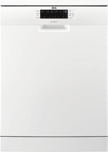 AEG FFB52910ZW, biela umývačka riadu