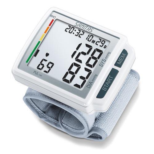 SANITAS SBC 41, zápästný plnoautomatický tlakomer