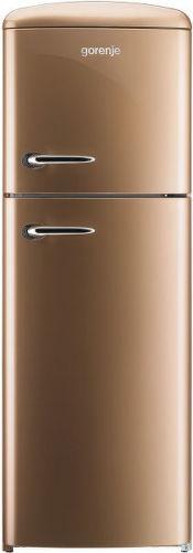 GORENJE RF 60309 OCO, hnedá kombinovaná chladnička