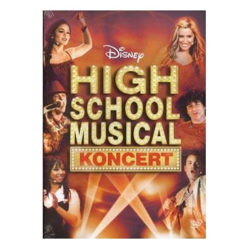 DVD F - High School Musical koncert