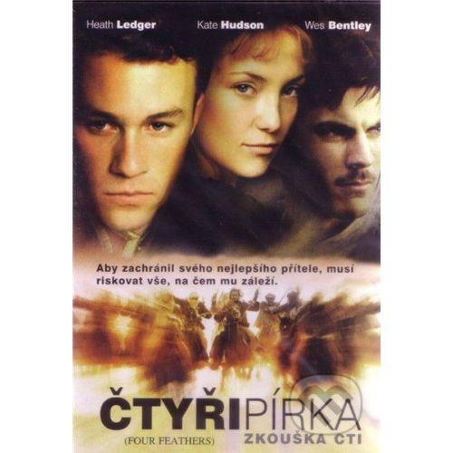 DVD F - Štyri pierka - Skúška cti (pošetka)