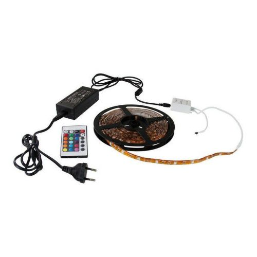 LED PASIK 5M+NAPAJAN. IP65 RGB ZS0420