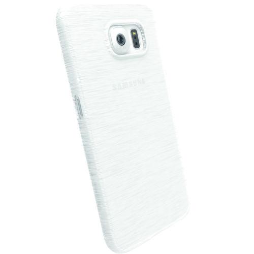 KRUSELL zadný kryt pre Samsung S6, biela