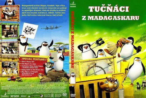 Tučňáci z Madagaskaru (DreamWorks) - film DVD