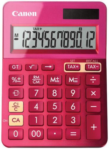 Canon LS-123K-MPK, 9490B003AA (růžová) - osobní kalkulačka