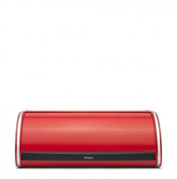 BRABANTIA 484001 Roll Top, chlebník červená