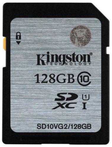 Kingston SDXC 128GB class 10 - paměťová karta