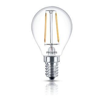 PHILIPS LED Filament 25W E14 WW P45 CL ND/4