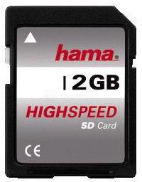 Hama SD 2GB Class 4, 55377 - pamäťová karta