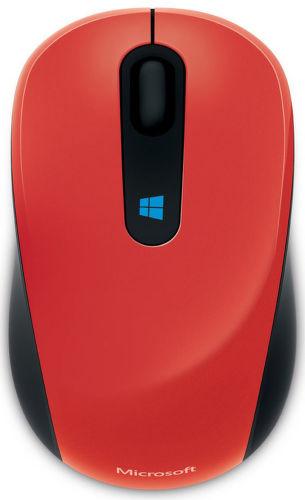 Microsoft Sculpt Mouse (červená) - bezdrátová myš