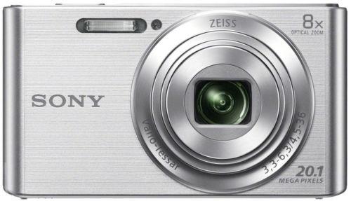 Sony CyberShot DSC-W830 (stříbrný) - fotoaparát