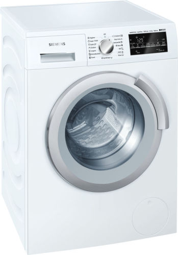 SIEMENS WS12T440BY, biela slim práčka plnená spredu