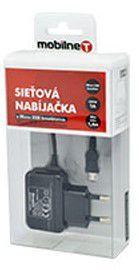 MOBILNET Micro USB nab.(1A), čierna