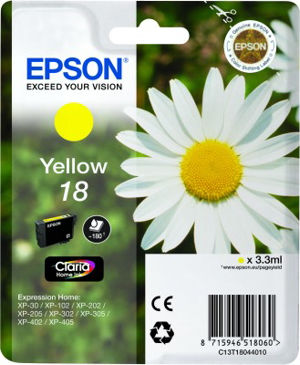 EPSON T18044020 YELLOW cartridge Blister