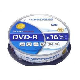 ESPERANZA DVD-R 4,7GB X16 - CAKE BOX 10 ks