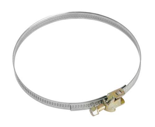 MORA MV 110 spona, upínacie kovové pásky so sponou, 110 mm