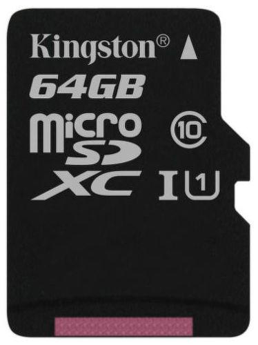 Kingston microSDHC, SDXC 64 GB Class 10 UHS-I