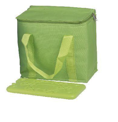COOL-IT BF-41994-G, chladiaca taška cez rameno zelená (objem 7l) a velká chladiaca vložka