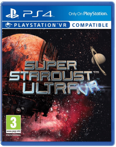 SONY VR Super Stardust, PS4 hra