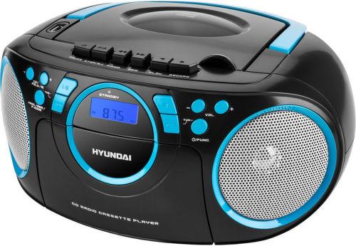 Hyundai TRC 788 AU3BBL - rádiomagnetofón (čierno-modré)