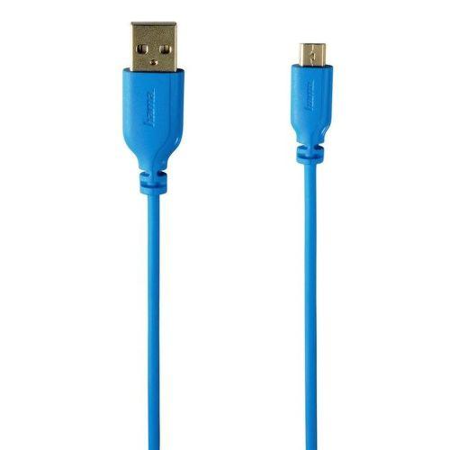 Hama 135701 kábel micro USB, modrá
