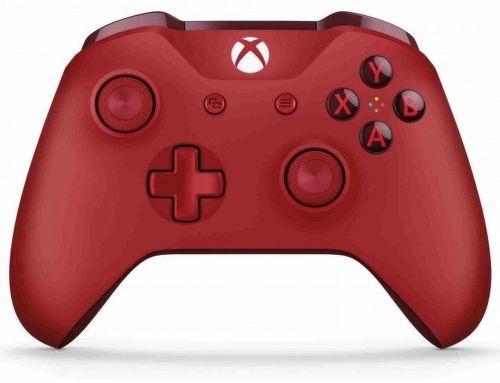 Microsoft Xbox One S Controller (červená)