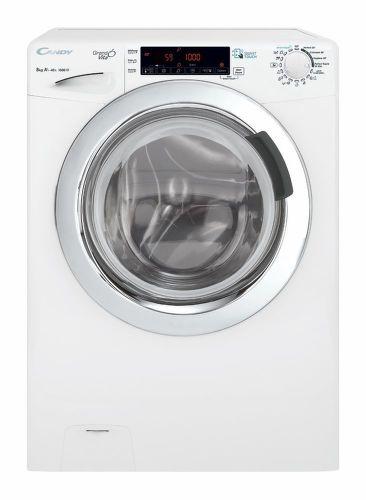 CANDY GVS 158TWHC3-S, biela smart práčka plnená spredu