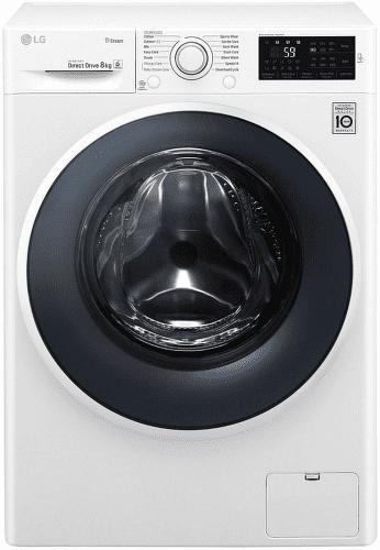 LG F82J6TY0W biela smart práčka plnená spredu