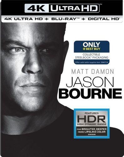 BONTON Jason Bourne, UHD + BD film