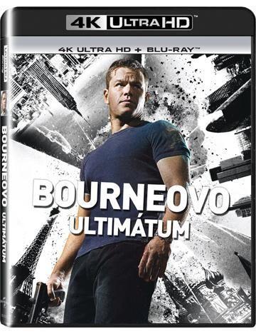 BONTON Bourneovo ultim., UHD + BD film