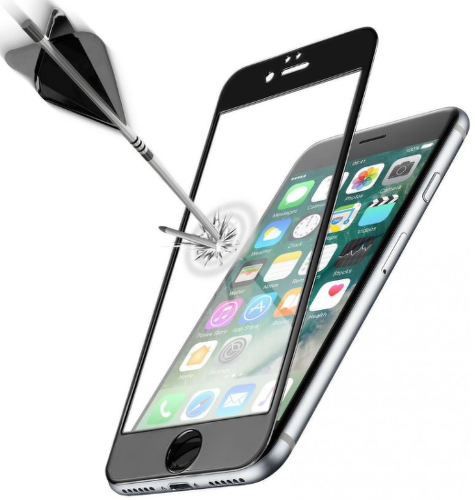 CELLULAR LINE iPhone 7 BLK, Tvrdené sklo