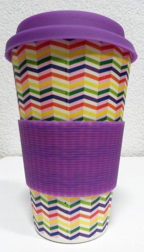Eco Bamboo Cup - Zig-Zag_01