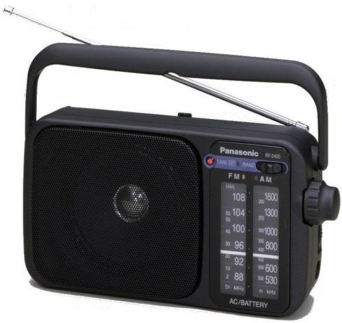 PANASONIC RF-2400DEG-K, Rádio