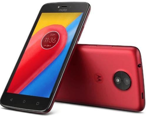 LENOVO MOTO C 4G RED, Smartfón