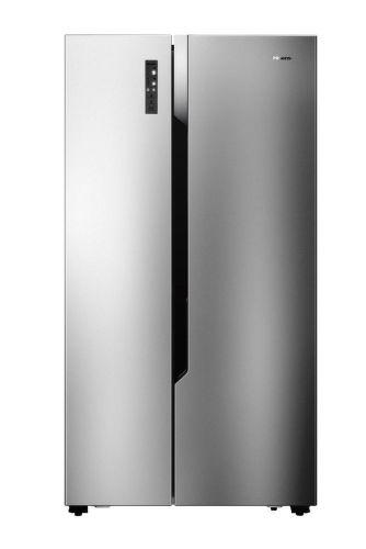 Hisense RS670N4BC2, nerezová americká chladnička