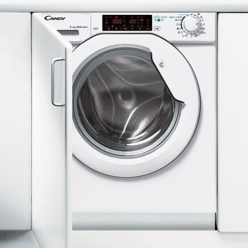 CANDY CBWDS 8514TH-S, Vstavaná práčka so sušičkou