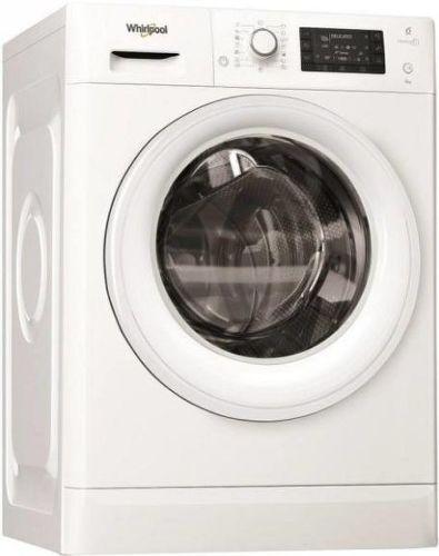 WHIRLPOOL FWSD61253W EU, biela slim práčka plnená spredu