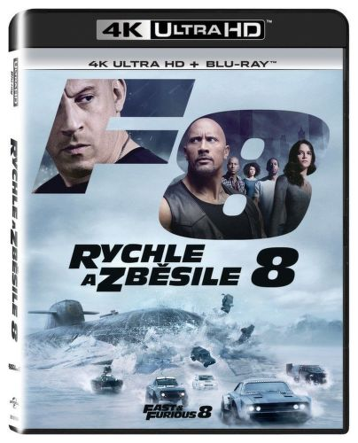 Rychle a zběsile 8 UltraHD+Blu-ray