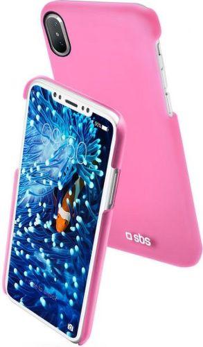 SBS Color Feel puzdro pre Apple iPhone X a Xs, ružová