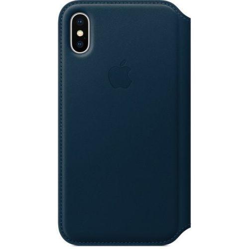 iPhone X Leather Folio_BLU_01