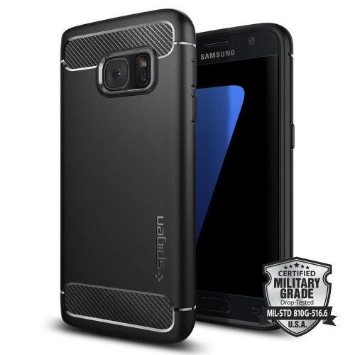 Spigen Samsung Galaxy S7 Case Rugged Armor blk