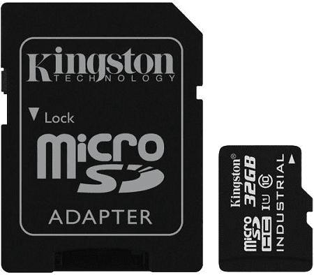 KINGSTON Indus mSDHC 32GB
